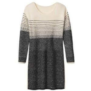 Athleta NWT Fireside Wool Striped Sweater Dress